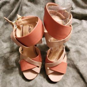Leila Stone Heels